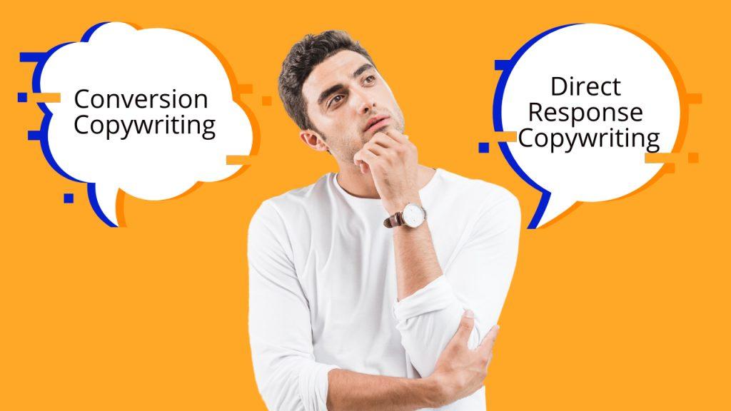conversion copywriting vs direct response copywriting