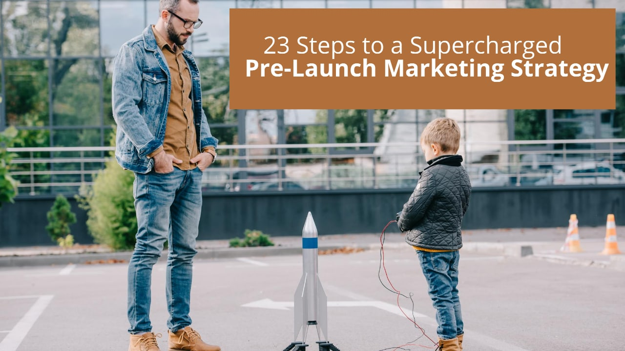 pre launch marketing strategy