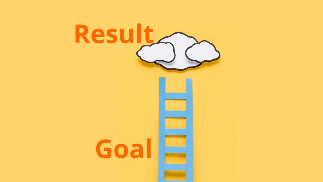 - Goal ≠ Result. - Himanshu Ganoliya